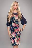 Новинки!Красивое женское платье 54,56 размер т м Ангелина