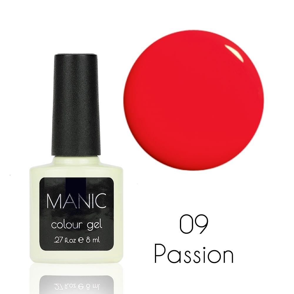 Гель лак MANIC №09 Passion