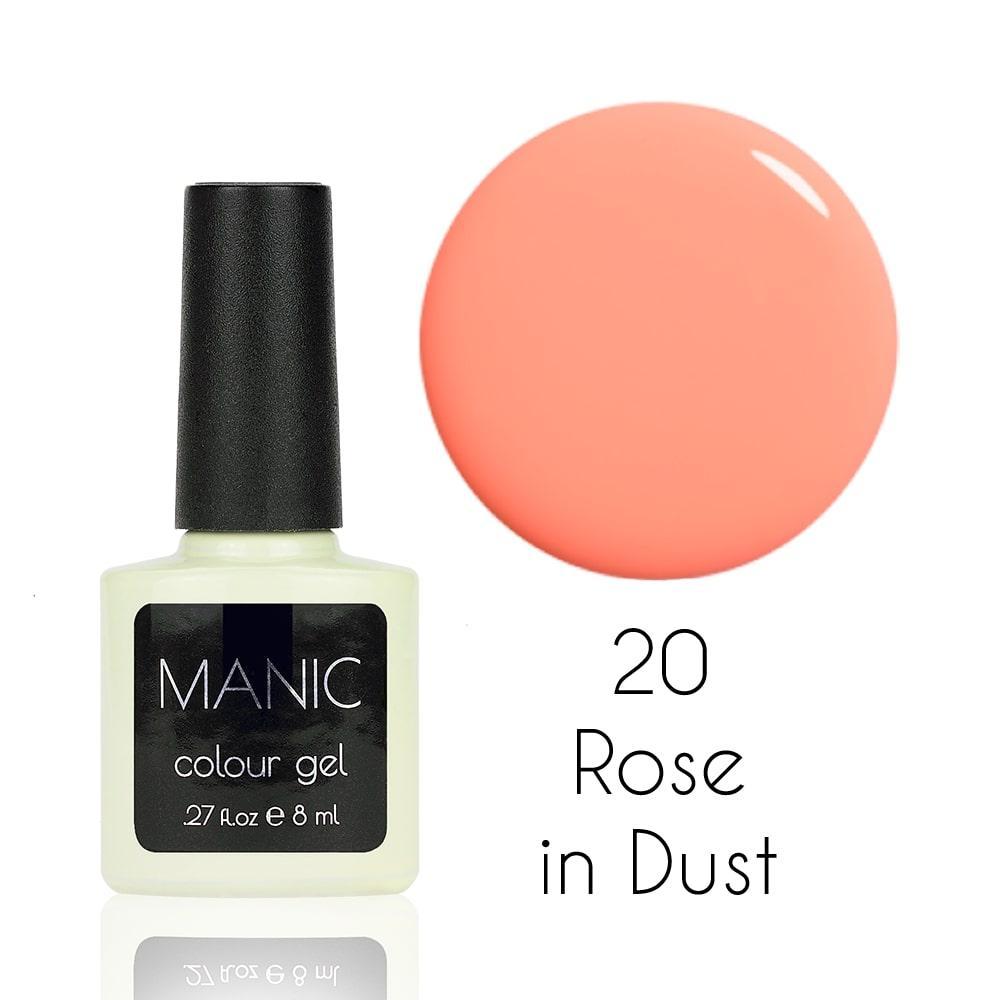 Гель лак MANIC №20 Rose in Dust