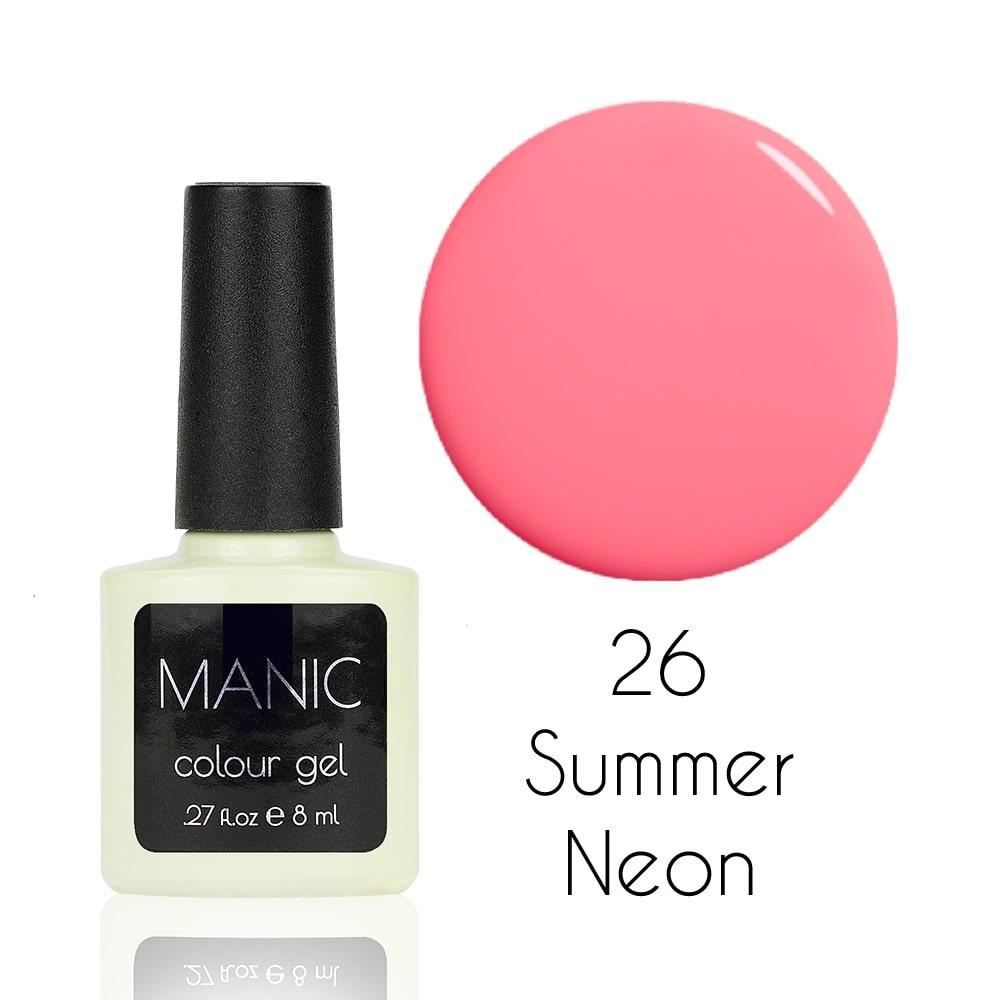 Гель лак MANIC №26 Summer Neon 8 мл