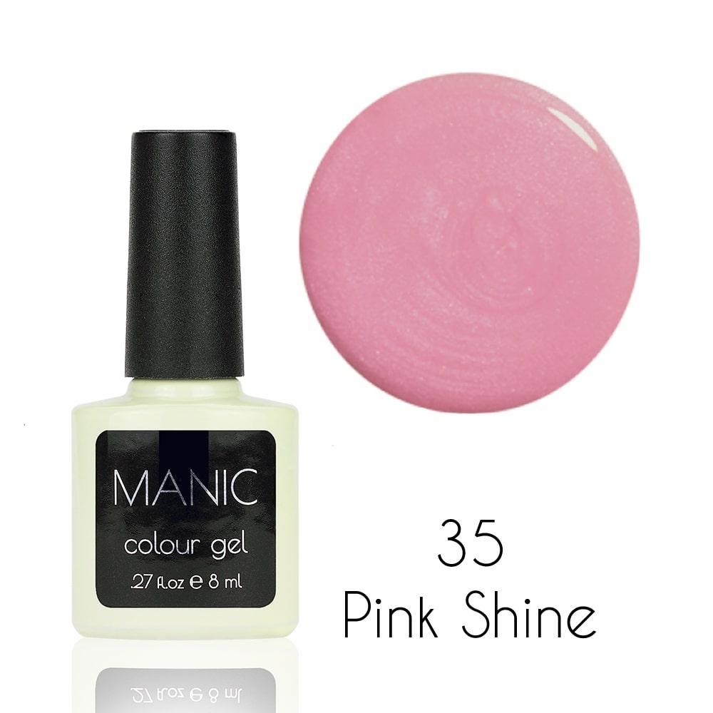 Гель лак MANIC №35 Pink Shine 8 мл