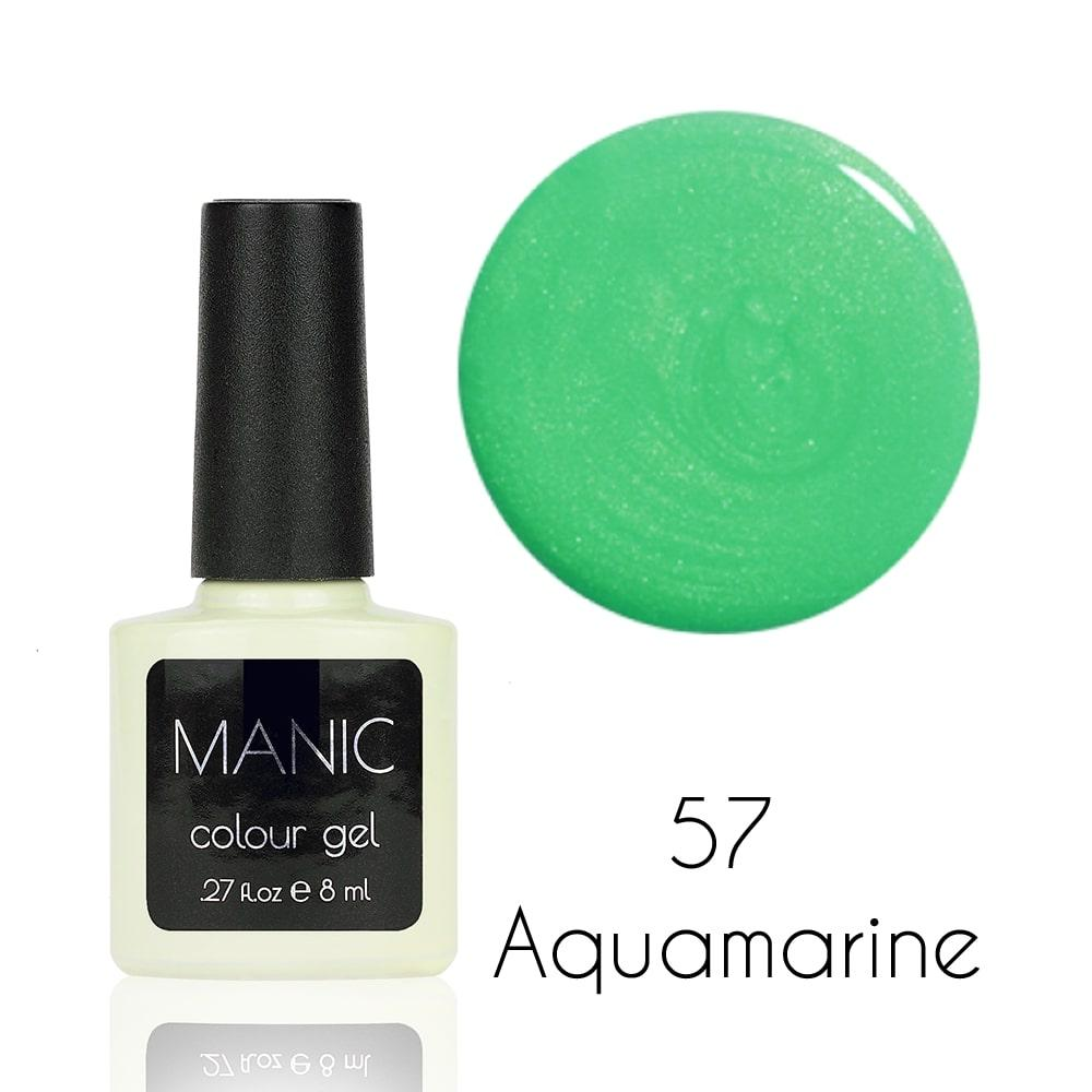 Гель лак MANIC №57 Aquamarine