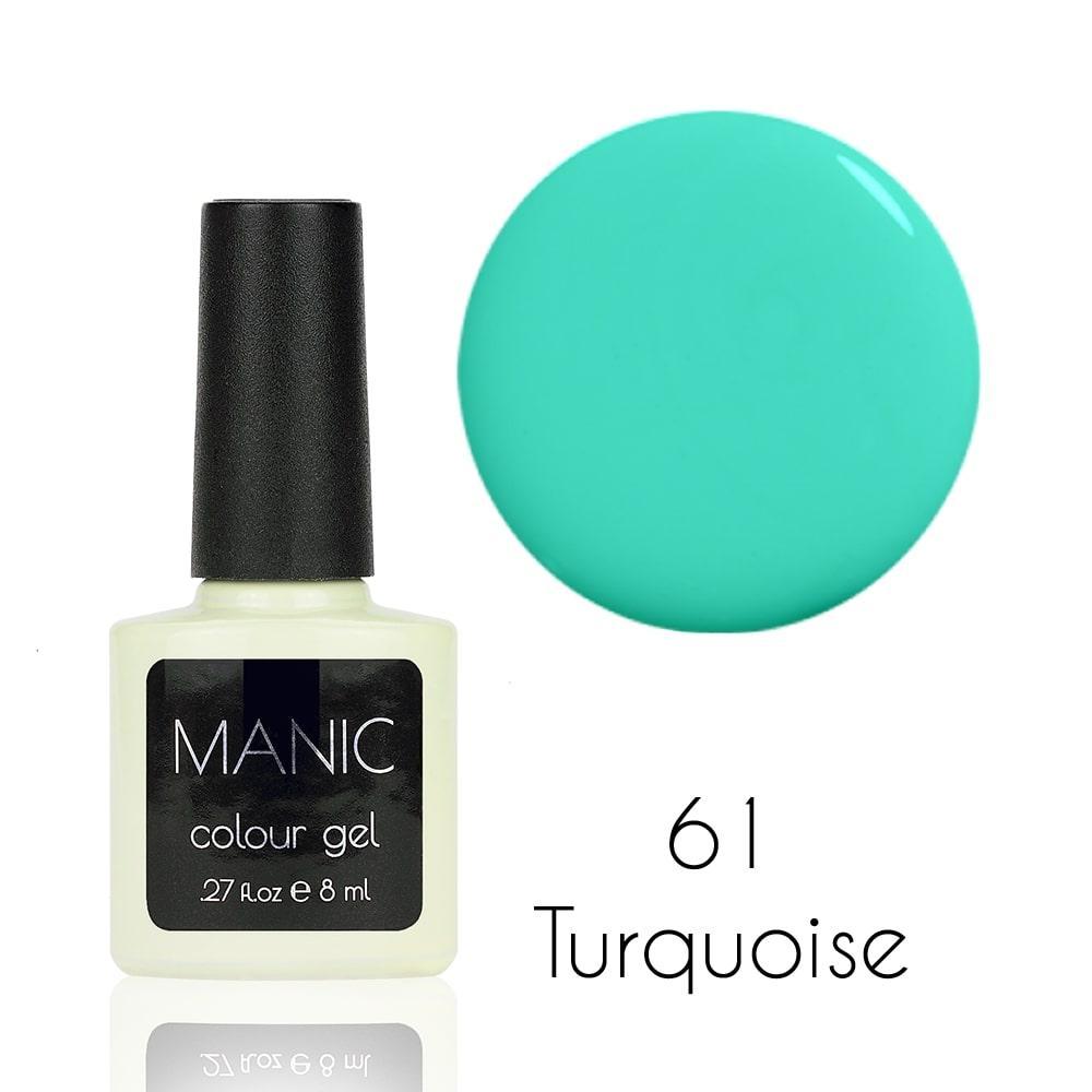 Гель лак MANIC №61 Turquoise