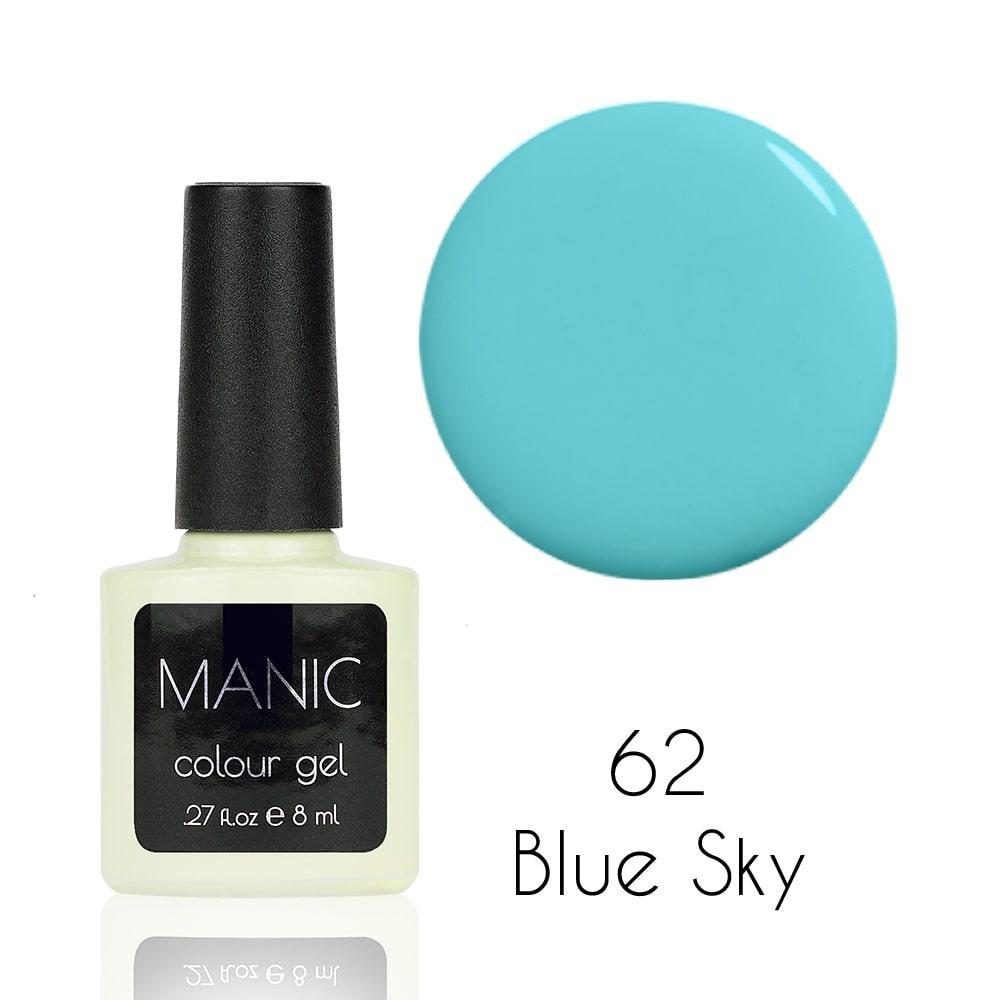Гель лак MANIC №62 Blue Sky 8 мл