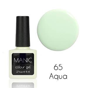 Гель лак MANIC №65 Aqua