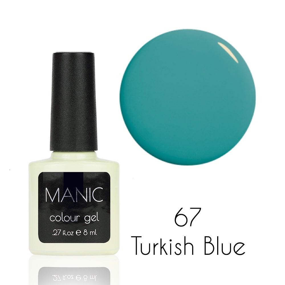 Гель лак MANIC №67 Turkish Blue
