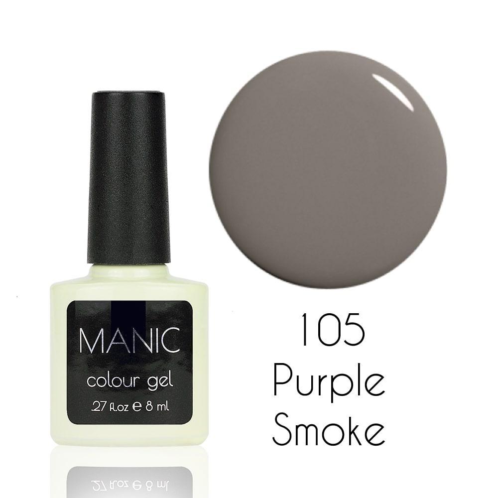 Гель лак MANIC №105 Purple Smoke