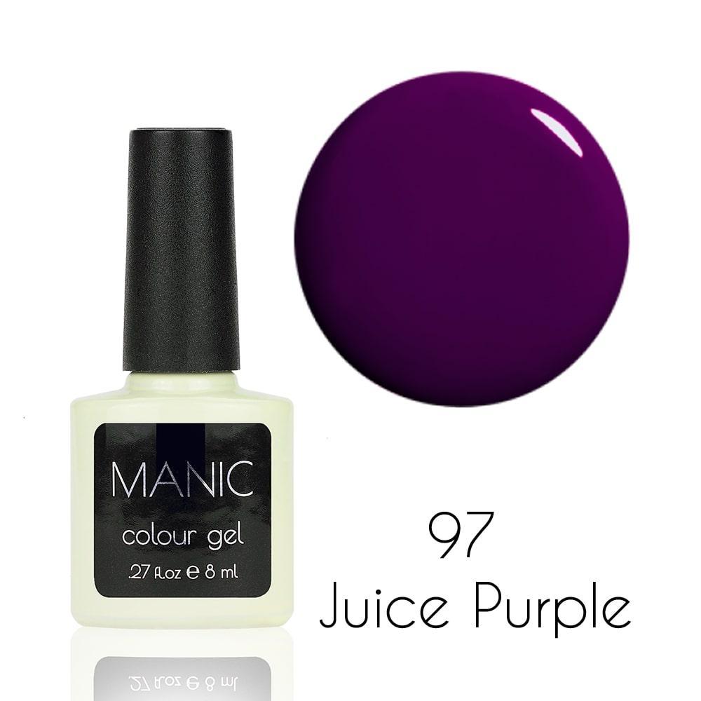 Гель лак MANIC №97 Juice Purple