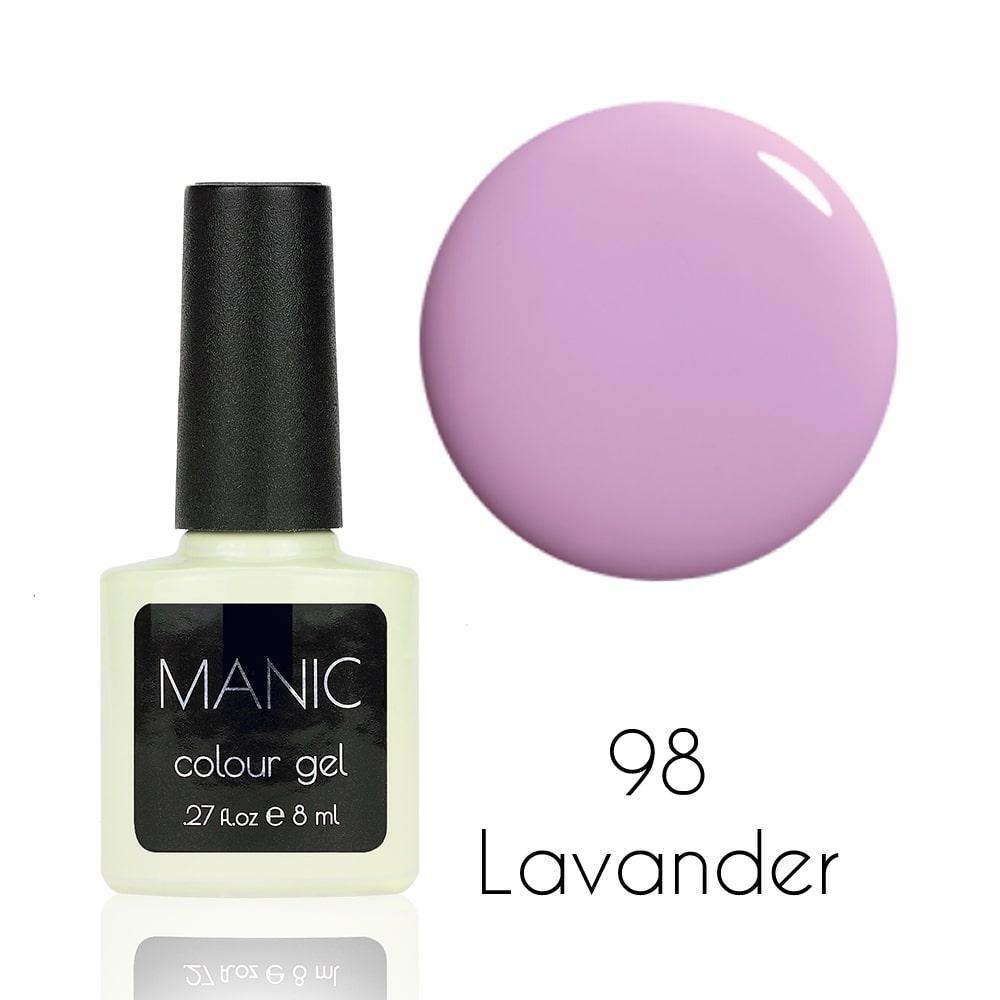 Гель лак MANIC №98 Lavander