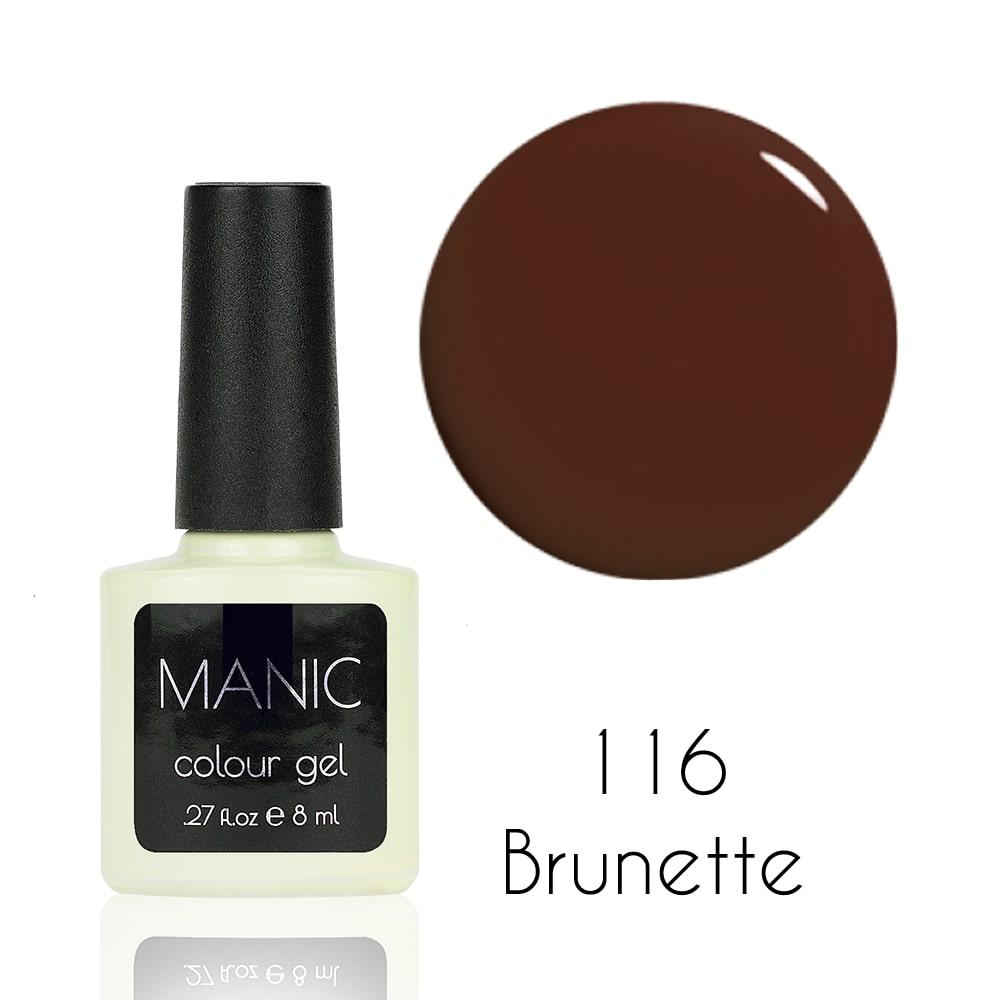 Гель лак MANIC №116 Brunette 8 мл
