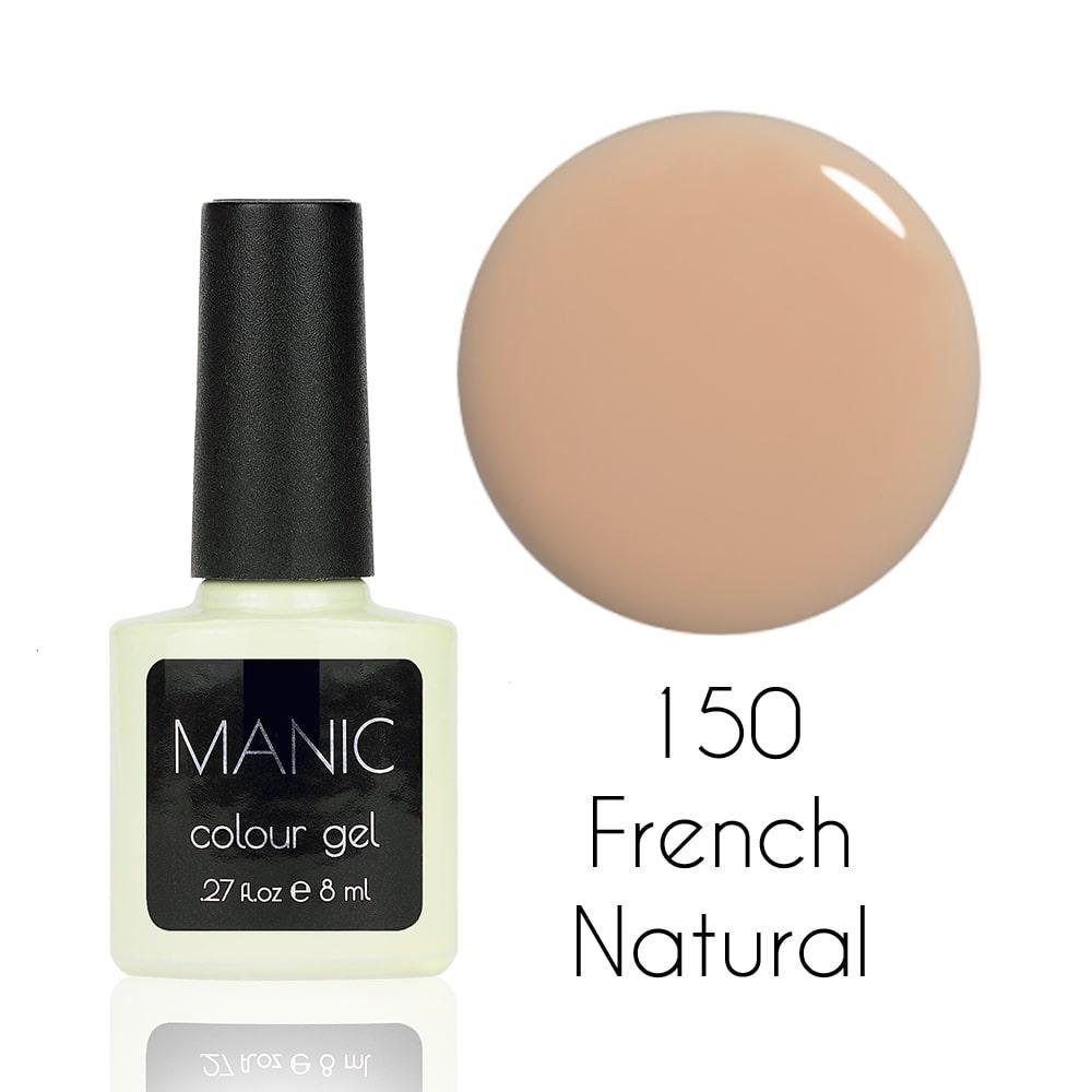 MANIC Гель лак MANIC №150 French Natural 8 мл
