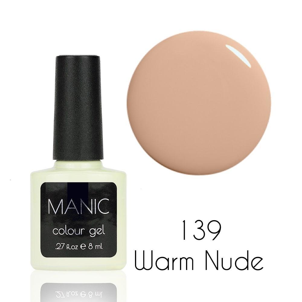 Гель лак MANIC №139 Warm Nude