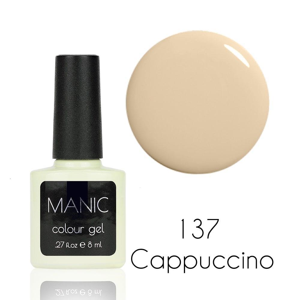 Гель лак MANIC №137 Cappuccino 8 мл