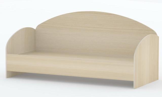 """Кровать """"Лувр"""" - оригинальная, с выгнутыми формами."""