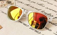 Очки № 40. Желто - оранжевые.