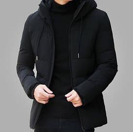 Мужская куртка весна-осень model Gysf  Black