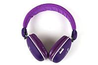Наушники Bluetooth WIRELESS BT-27 Purple
