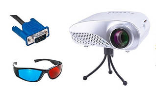 Проектор Maxled Neo (HDMI,USB,SD) +3D окуляри