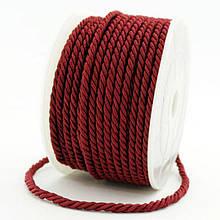 Шнур Плетеный Лавсан, Цвет: Бордовый, Размер: Диаметр 3мм, около 18м/связка, (УТ000006998)