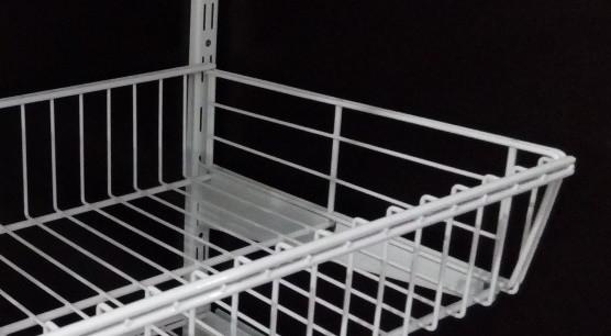 Перегородка до кошика сітчастого шириною 306мм для гардеробної системи зберігання Україна
