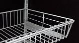 Перегородка до кошика сітчастого шириною 306мм для гардеробної системи зберігання Україна, фото 2