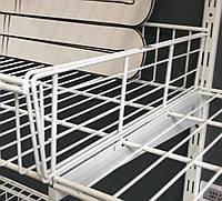 Перегородка до кошика сітчастого шириною 406мм для гардеробної системи зберігання Україна, фото 1