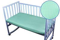 """Простынь на резинке в кроватку 60х120 ТМ """"Руно"""""""