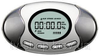 Шагомер с анализатором жира в организме и подсчетом калорий TURBOCheck