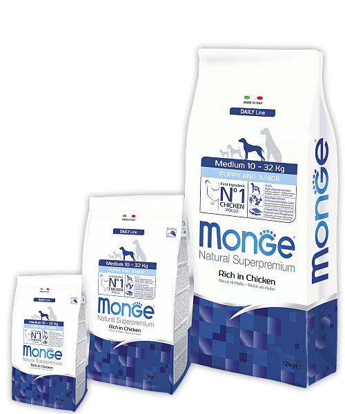 Корма для собак Monge Superpremiun Medium
