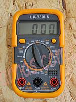 Мультиметр (тестер) UK830LN цифровой, фото 1