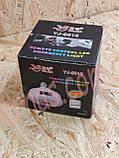Акумуляторна світлодіодне лампа Yajia YJ-9815, фото 2
