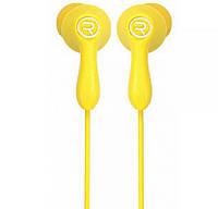 Наушники Remax RM-505 Earphone Yellow , фото 1