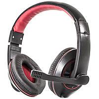 Наушники с микрофоном Soyto SY722MV Black/Red , фото 1