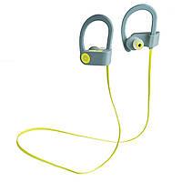 Беспроводные наушники Romix S3 Sport Wireless Headphone  RWH S3 Green-Grey