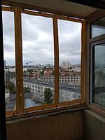 Навес из ПВХ на балкон