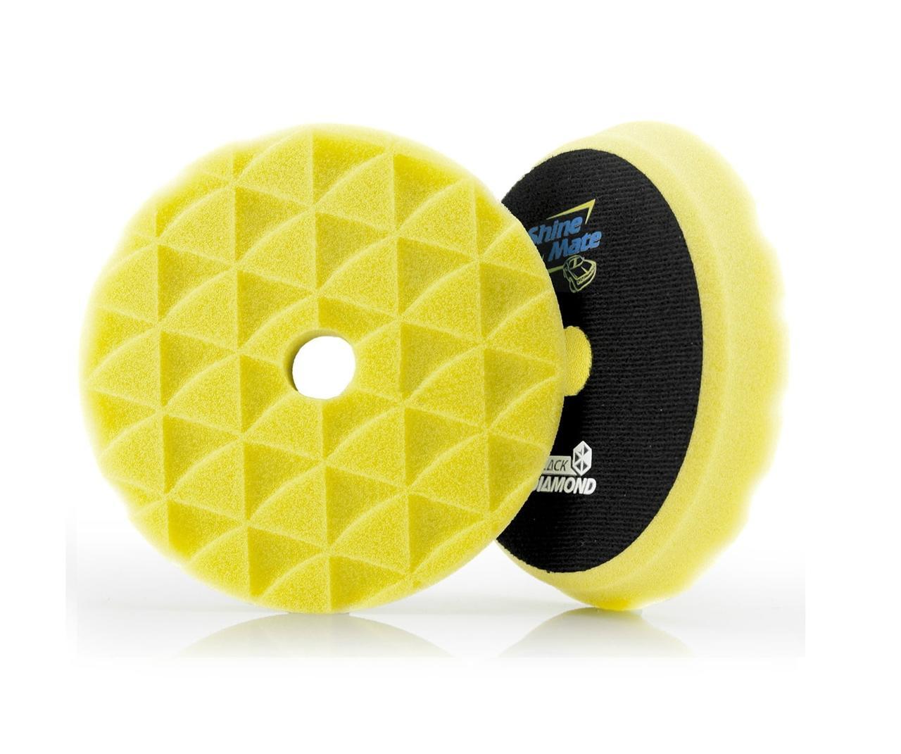 Yellow high cutting T80 твердый поролоновый круг
