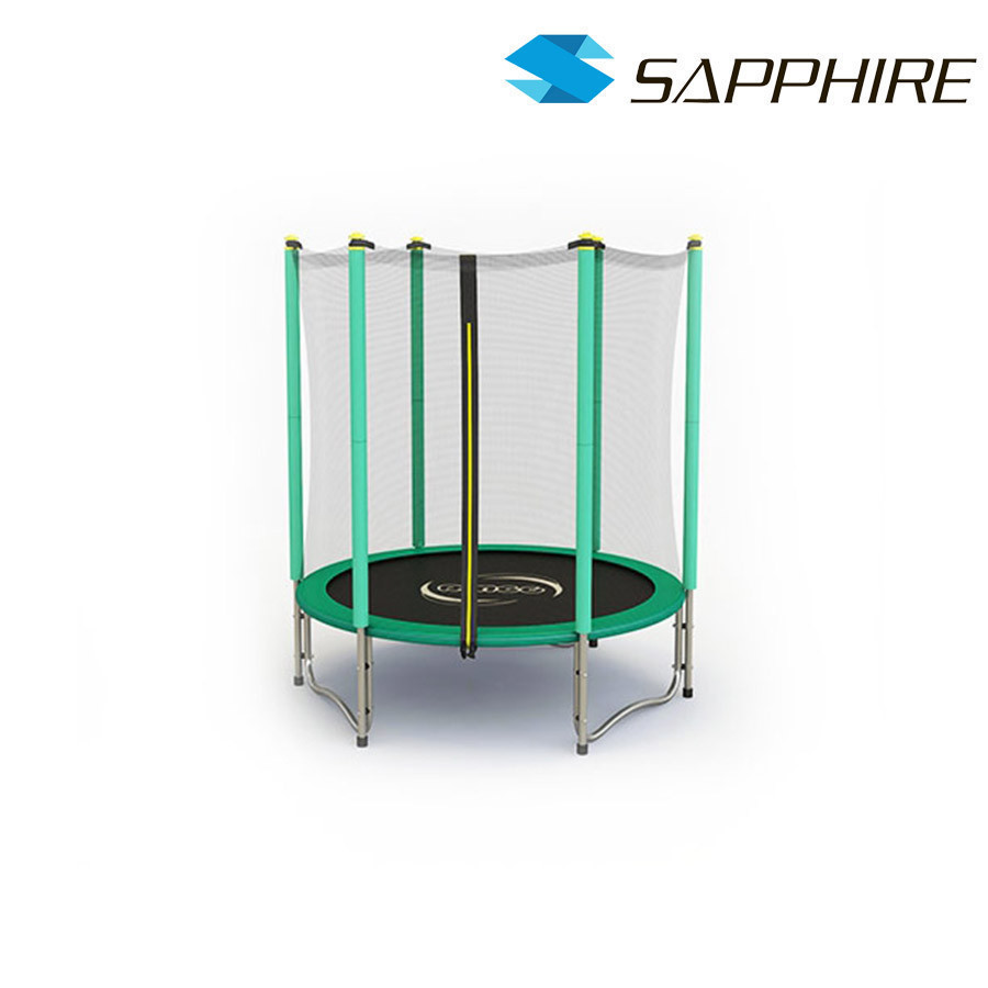 Батут  SAPPHIRE 4.6 FT 140 см- зеленый