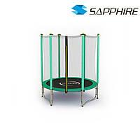 Батут  SAPPHIRE 4.6 FT 140 см- зеленый, фото 1