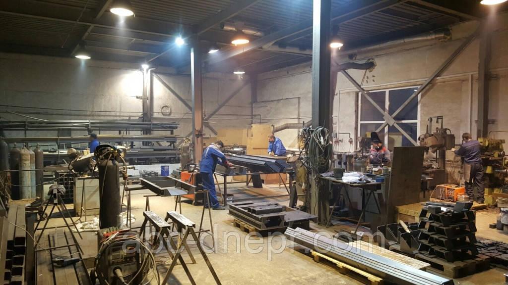 Изготовление металлоконструкций согласно чертежей заказчика