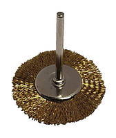 Щетка боковая для гравера из рифленой проволоки 25 мм.
