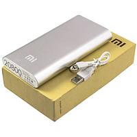 Power Bank Xiaomi Mi 20800 mAh (60-70%) серебристый