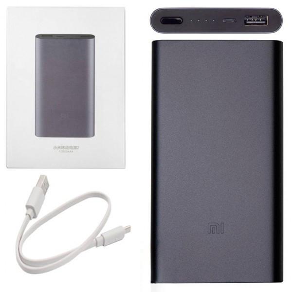 Power Bank Xiaomi Mi 2 10000 mAh графит