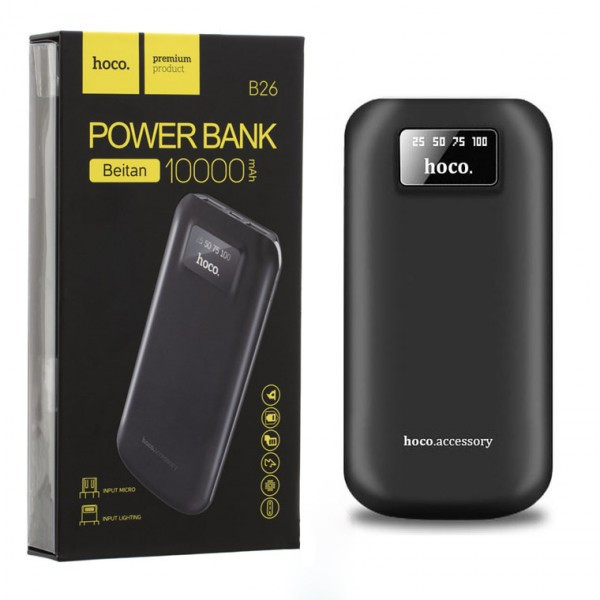Power Bank Hoco B26 10000 mAh Original черный