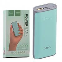 Power Bank Hoco B21 5200 mAh Original бирюзовый