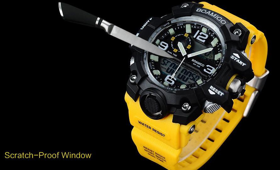 Модные часы для плавания и занятия спортом IP68