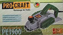 Рубанок Procraft PE1900