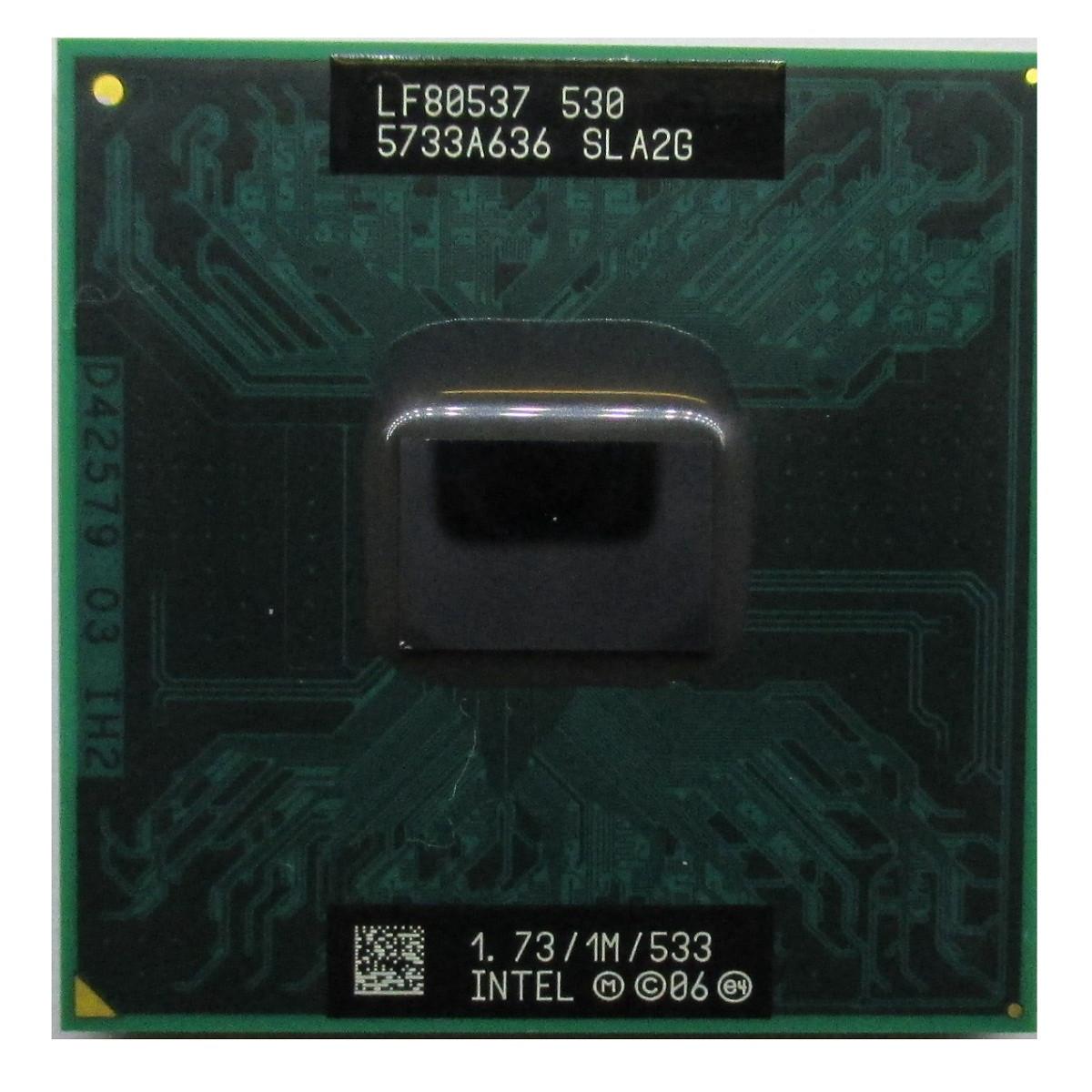Процессор Intel Celeron M 530 1.73GHz/1M/533 (SLA2G) socket P, tray