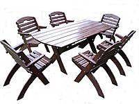 Садовая мебель деревянное, фото 1