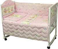 """Детский постельный набор в кроватку 120х60см 4 предмета ТМ """"Руно"""""""
