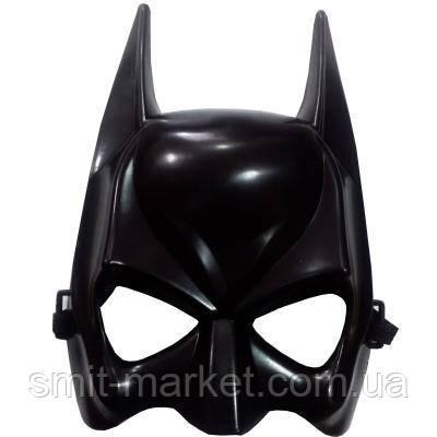 Маска пластик Бетмен (полумаска), фото 2